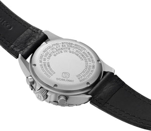Damasko Watch DC 66 Si Leather Pin