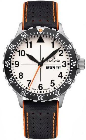 Damasko Watch DA 43 Robby Black Orange DA 43 Robby Black Orange
