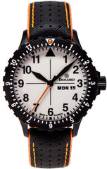 Damasko Watch DA 43 Black Robby Black Orange