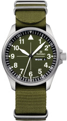 Damasko Watch DH 3.0 Nato Green Strap