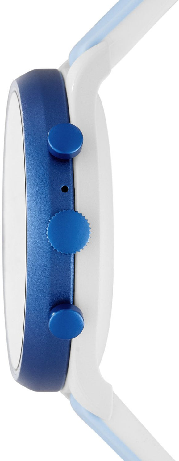 Fossil Watch Sport Smartwatch Light Blue Silicone