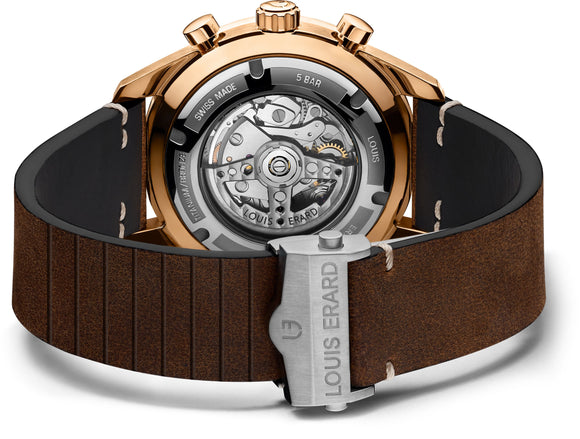 Louis Erard Watch La Sportive Bronze Limited Edition