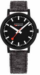 Mondaine Watch SBB Essence Black