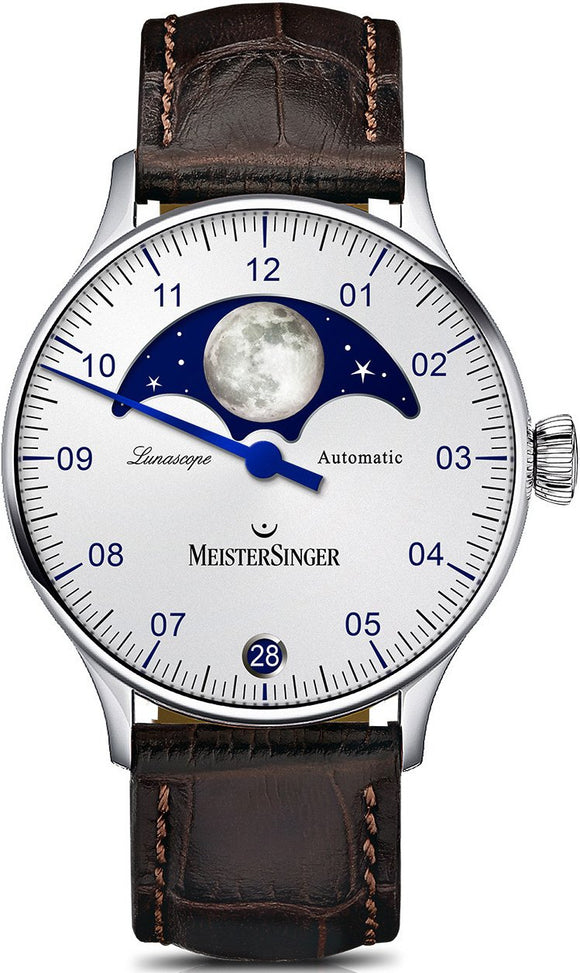 MeisterSinger Watch Lunascope LS901