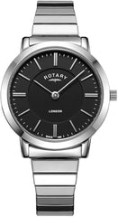 Rotary Watch Expandable Ladies