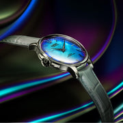 U-Boat Watch Rainbow Blue SS