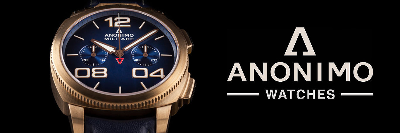 Anonimo Watches banner
