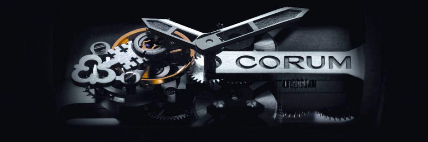 Corum Watches banner