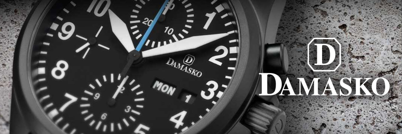 Damasko Watches banner
