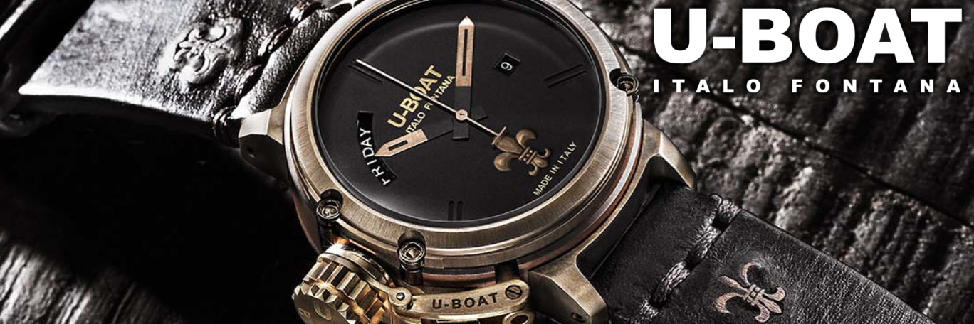 U-Boat Watches banner