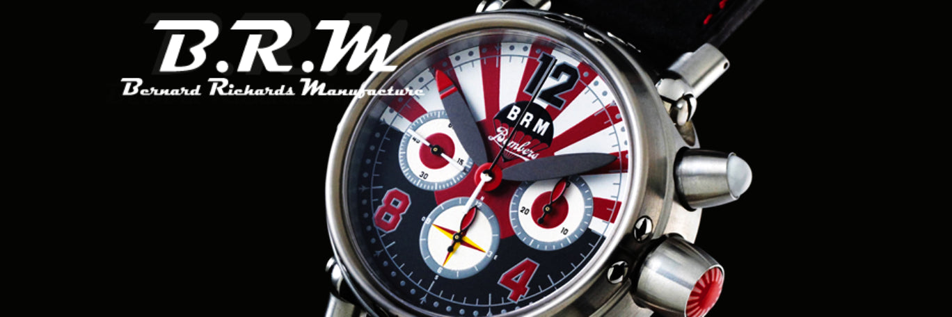 banner of B.R.M Watches