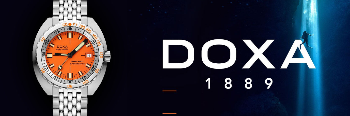 banner of Doxa Watches