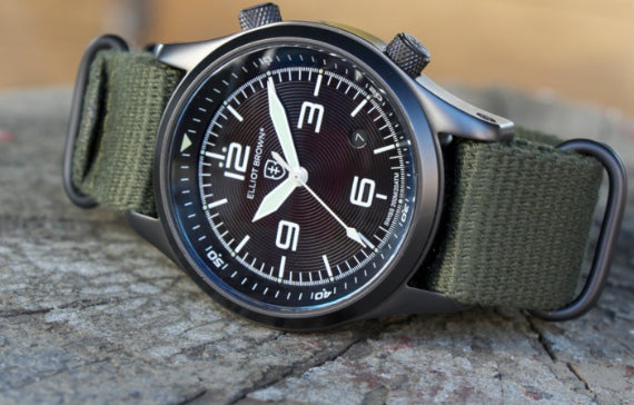 example of Elliot Brown Limited Watch