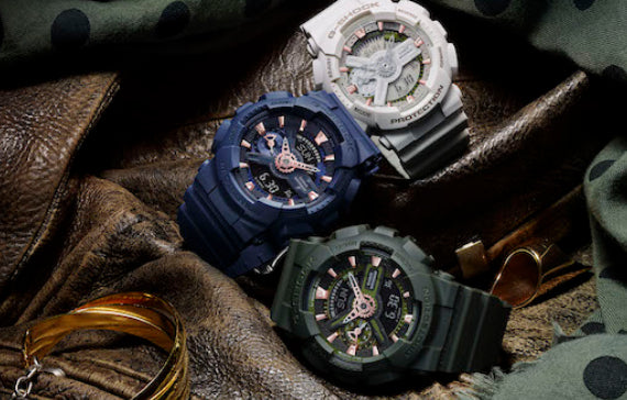 example of G Shock Ladies Watch