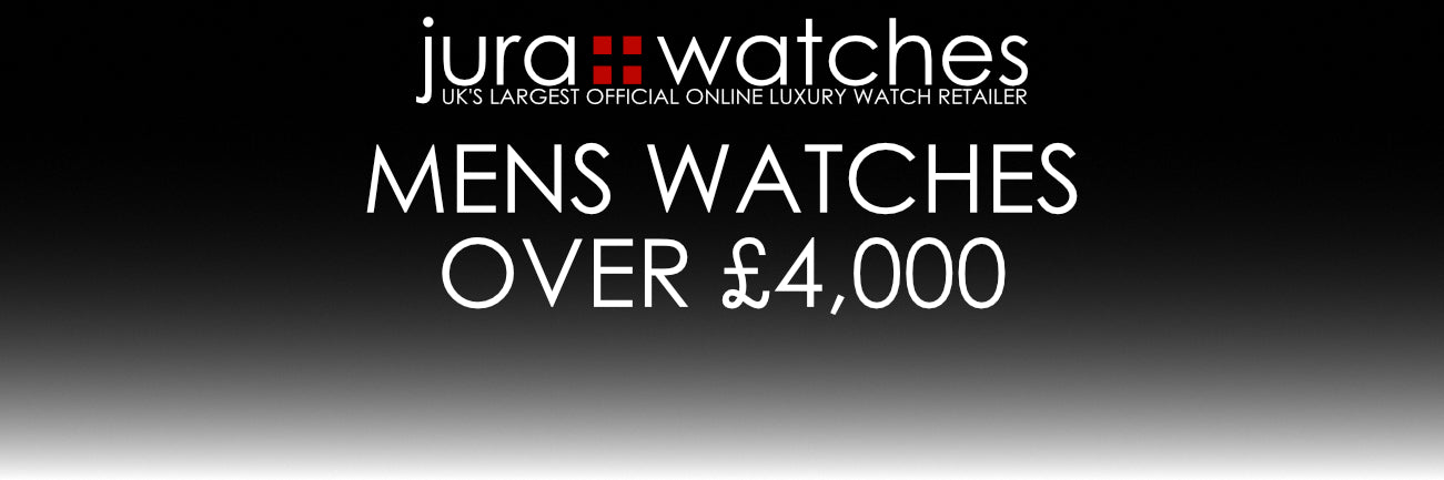 Jura Watches UK's largest official online luxury watch retailer. Mens Watches over £4,000
