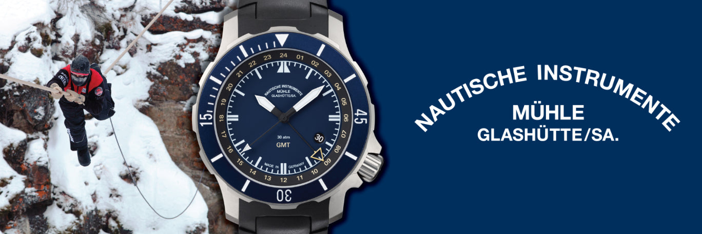 banner of Muhle Glashutte Watches