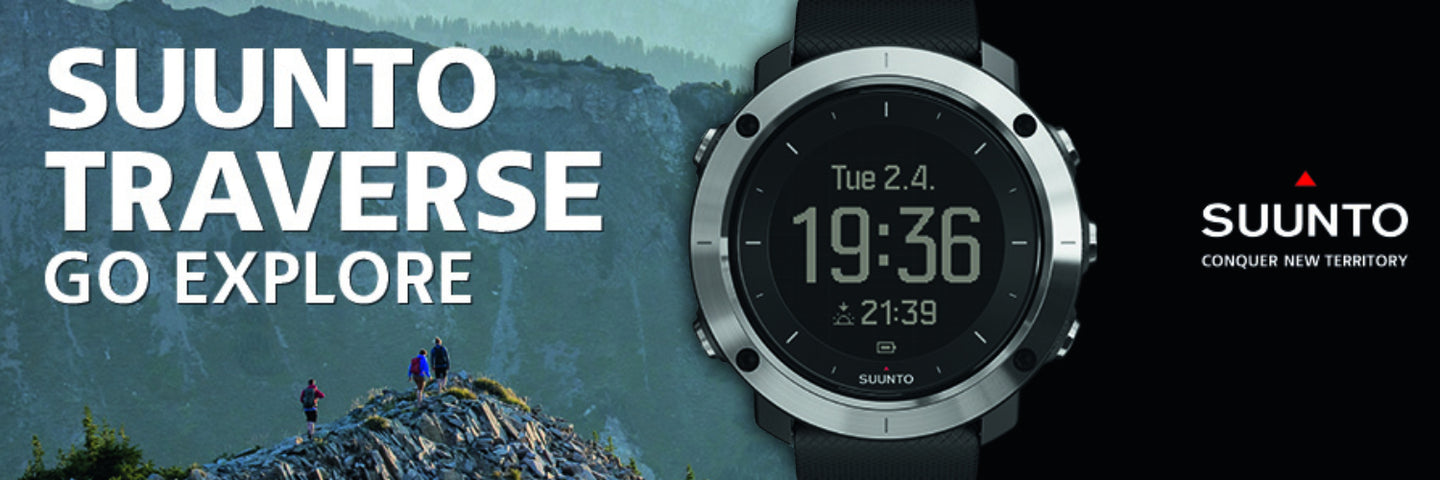 banner of Suunto Watches