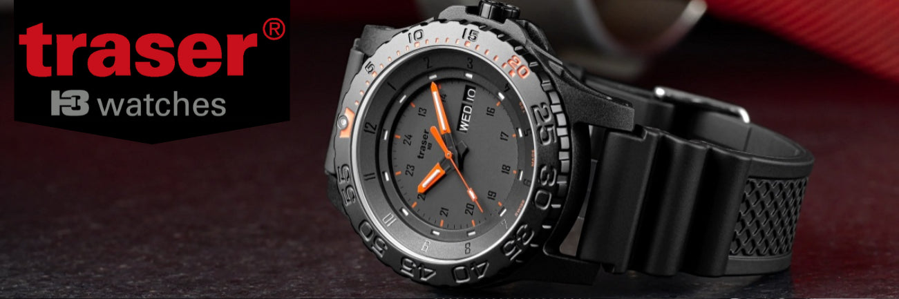 banner of Traser H3 Watches