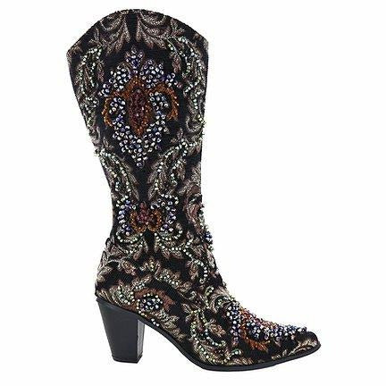 Helen's Heart Crystal Boot DS32