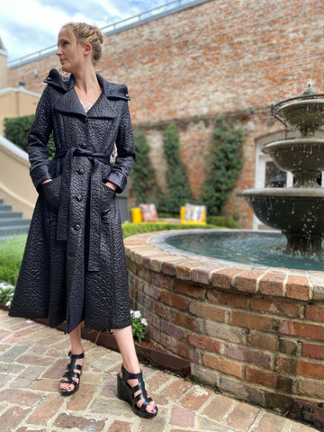 Samuel Dong Trench Raincoat Dress