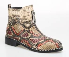 Ninety Union Zippy Snake Bootie W081