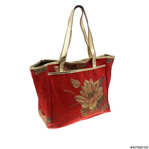 INS Handbags Floral Fabric Tote H031