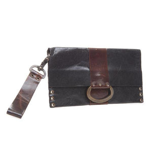Gina Riley D-Ring Wristlet Clutch HS31