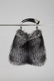 Fox fur & Argentinean Bull horn bag