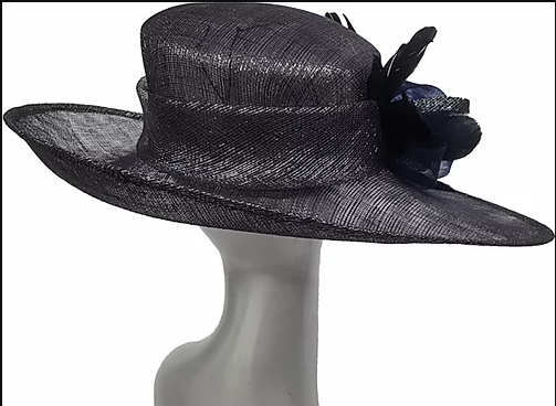 Swan Hats Derby Hat