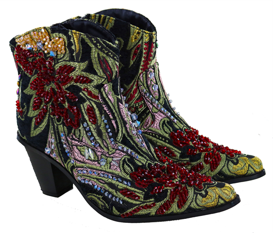 Helen's Heart Jules Ankle Boot F203