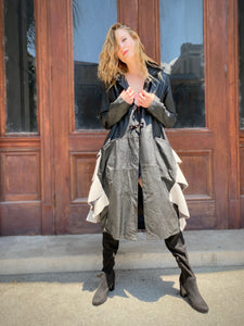 Patucei Handmade Leather Coat J01