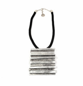 Chanour Pewter Collection Necklace