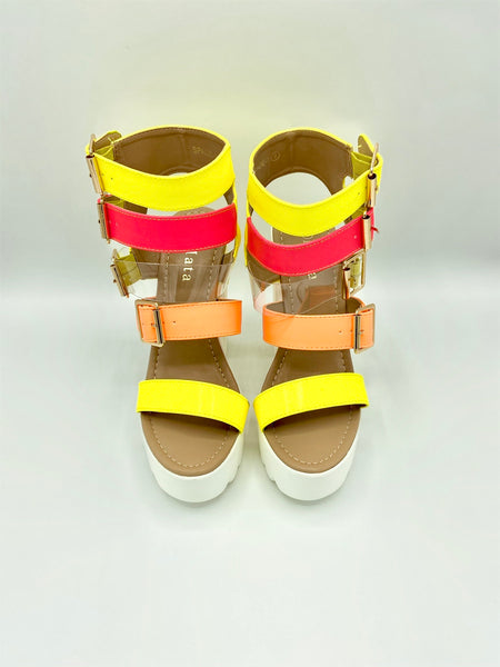 Mata Spade High Sandal IS028