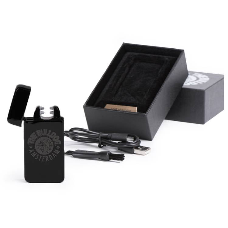 The Bulldog Plazmatic Lighter - Matte Black