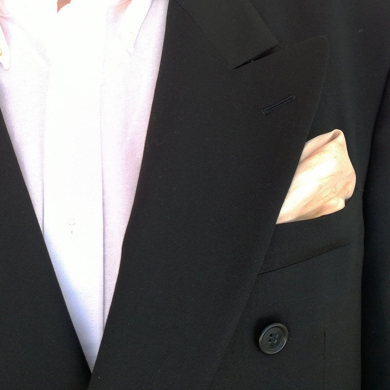 Men's Tan Pocket Square
