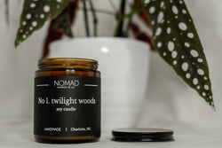 Twilight Woods Wood Wick Candle - Citrus | Woody | Vanilla