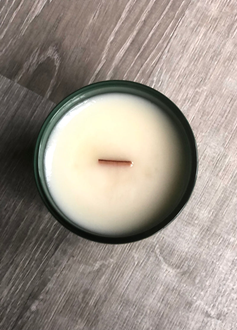 Luxury Matte Olive Aura Candle