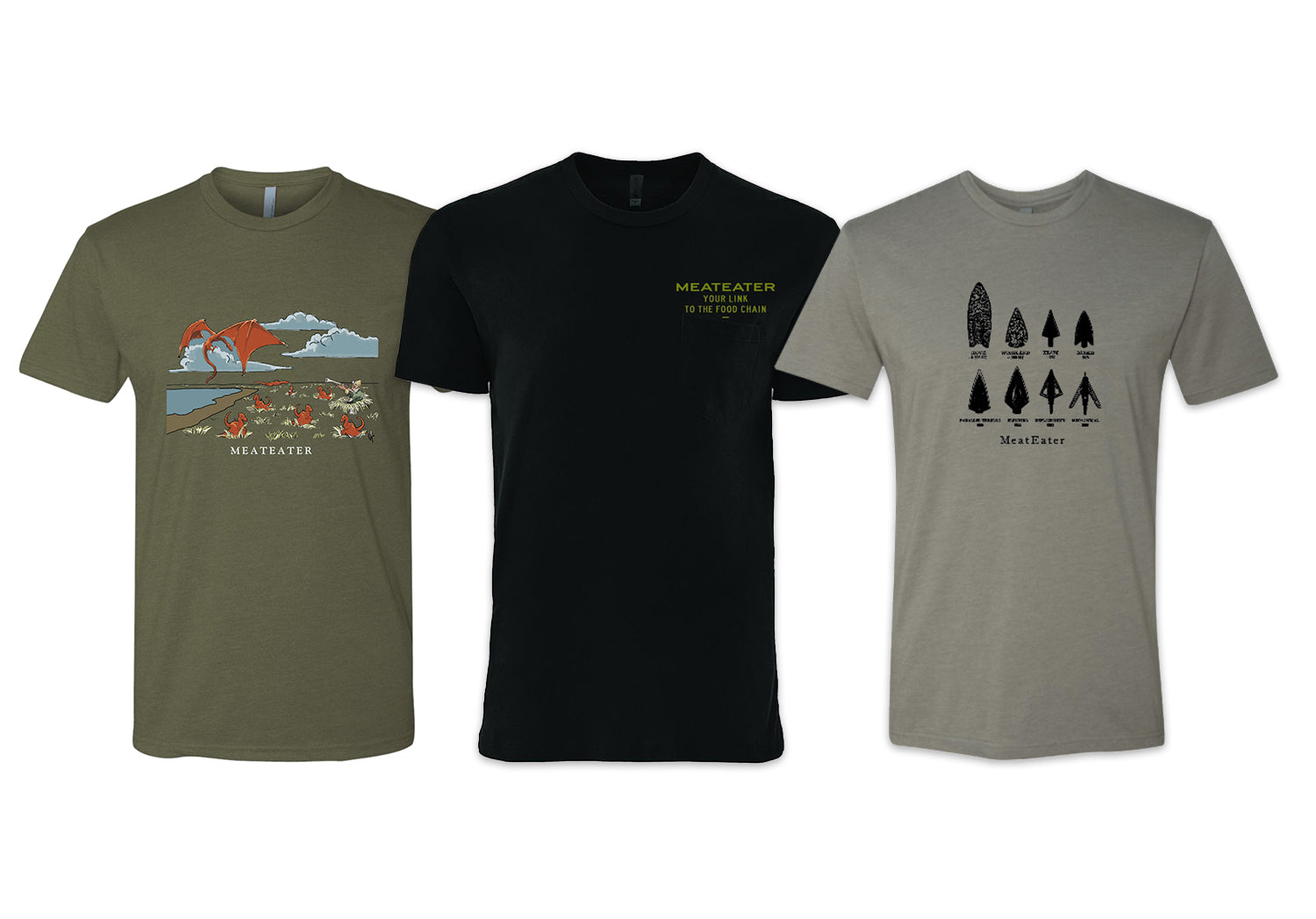 MeatEater's Choice T-Shirt 3 Pack