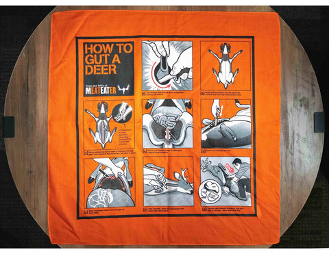 "TEMPORARILY UNAVAILABLE: ""How to Gut a Deer"" Bandana"