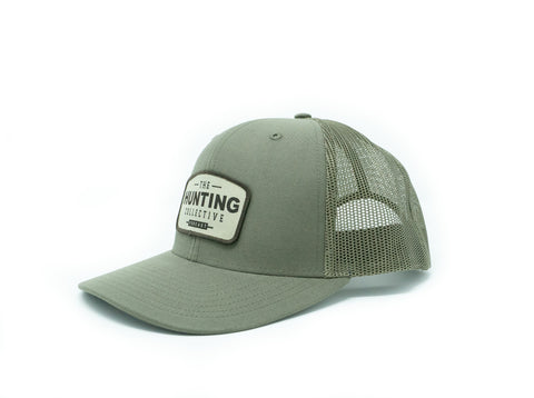 Hunting Collective Trucker Hat: Loden with Patch