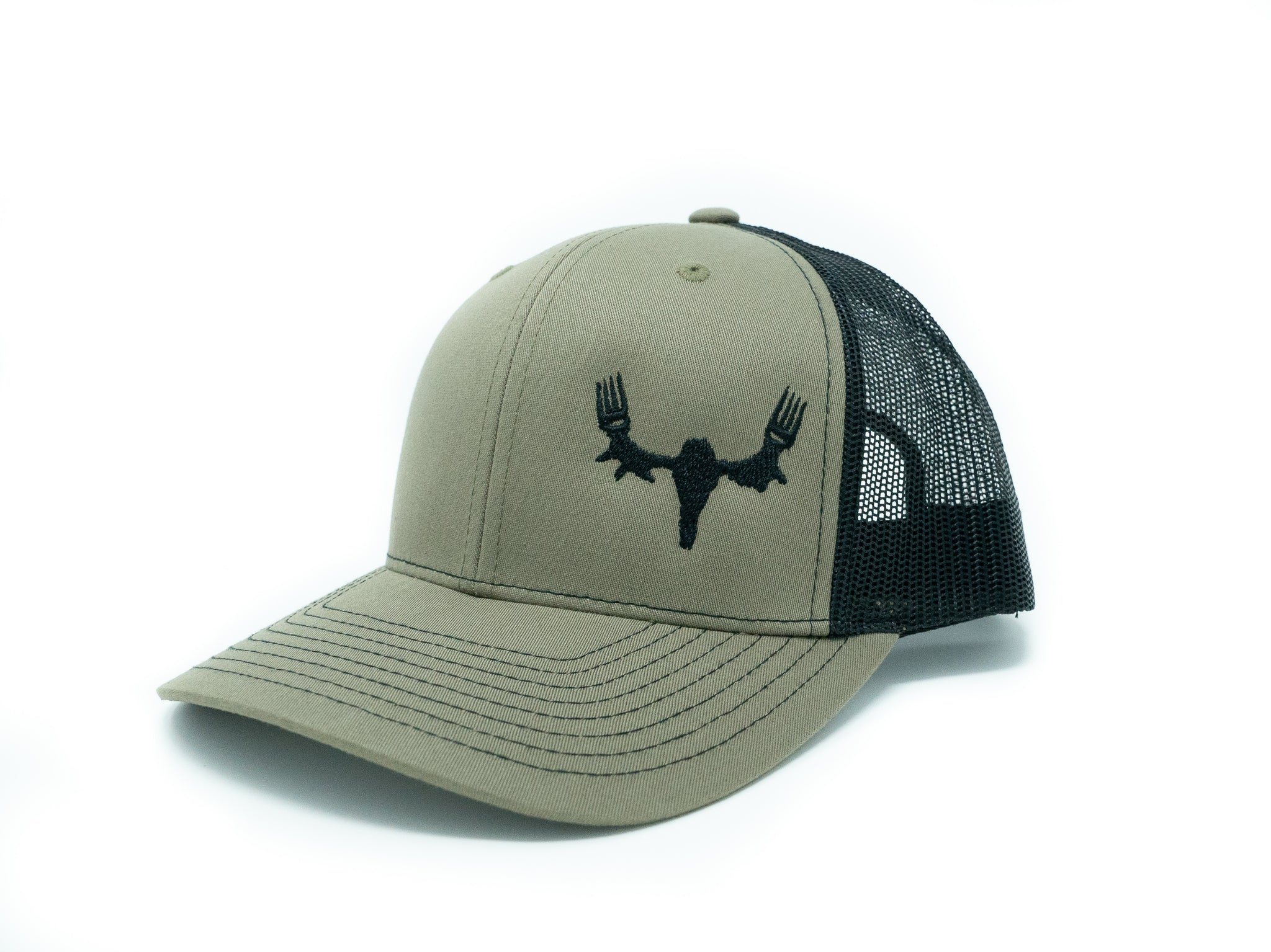 MeatEater Embroidered Hat Loden/Black