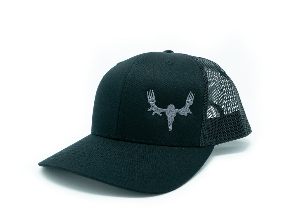 MeatEater Embroidered Hat - Black