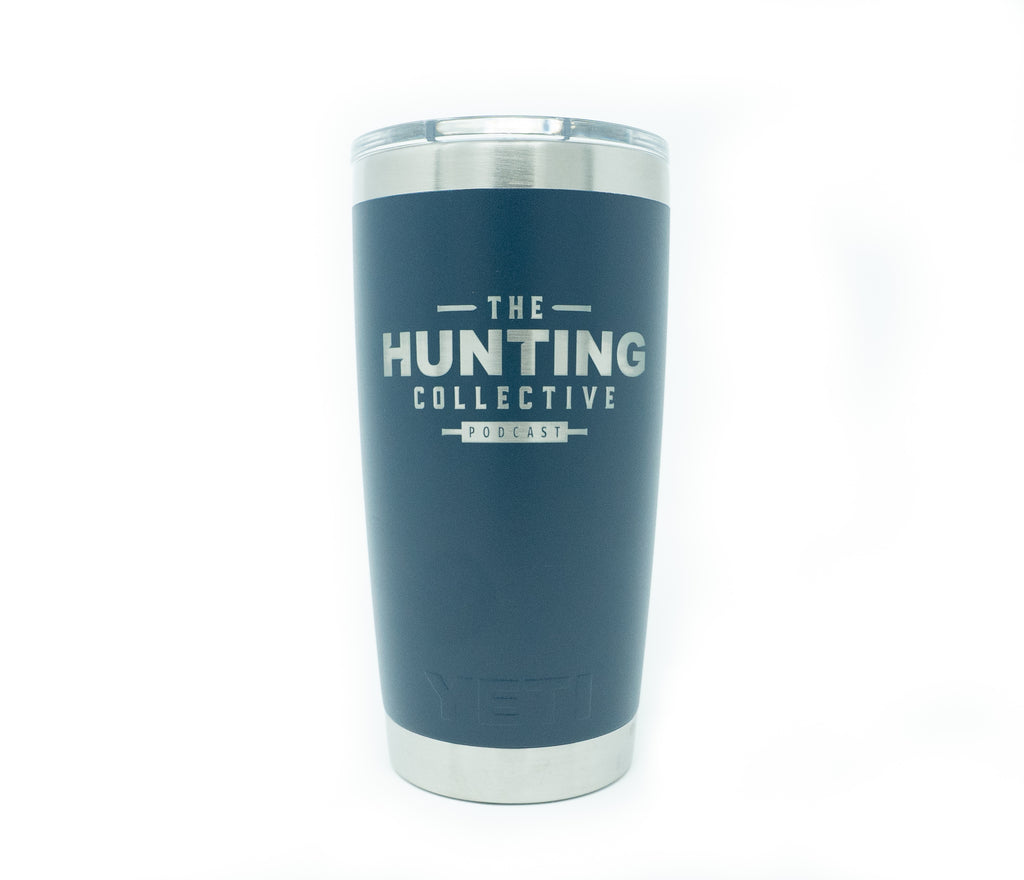 Hunting Collective 20 ounce YETI Tumbler - Navy Blue
