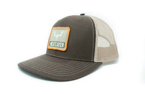 MeatEater Trucker Hat: Brown with Patch