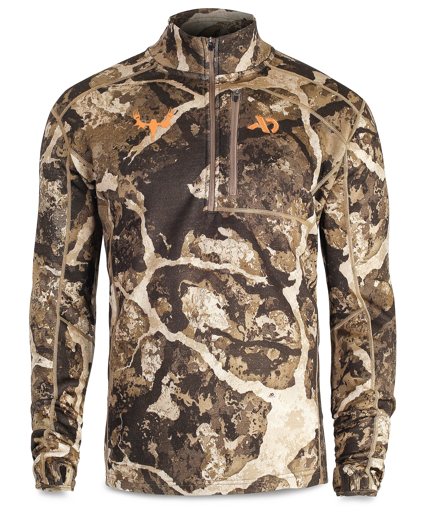 Men's Furnace Quarter Zip with MeatEater logo
