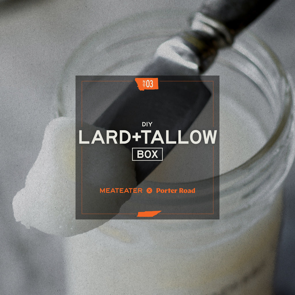 MeatEater X Porter Road - Lard & Tallow Box