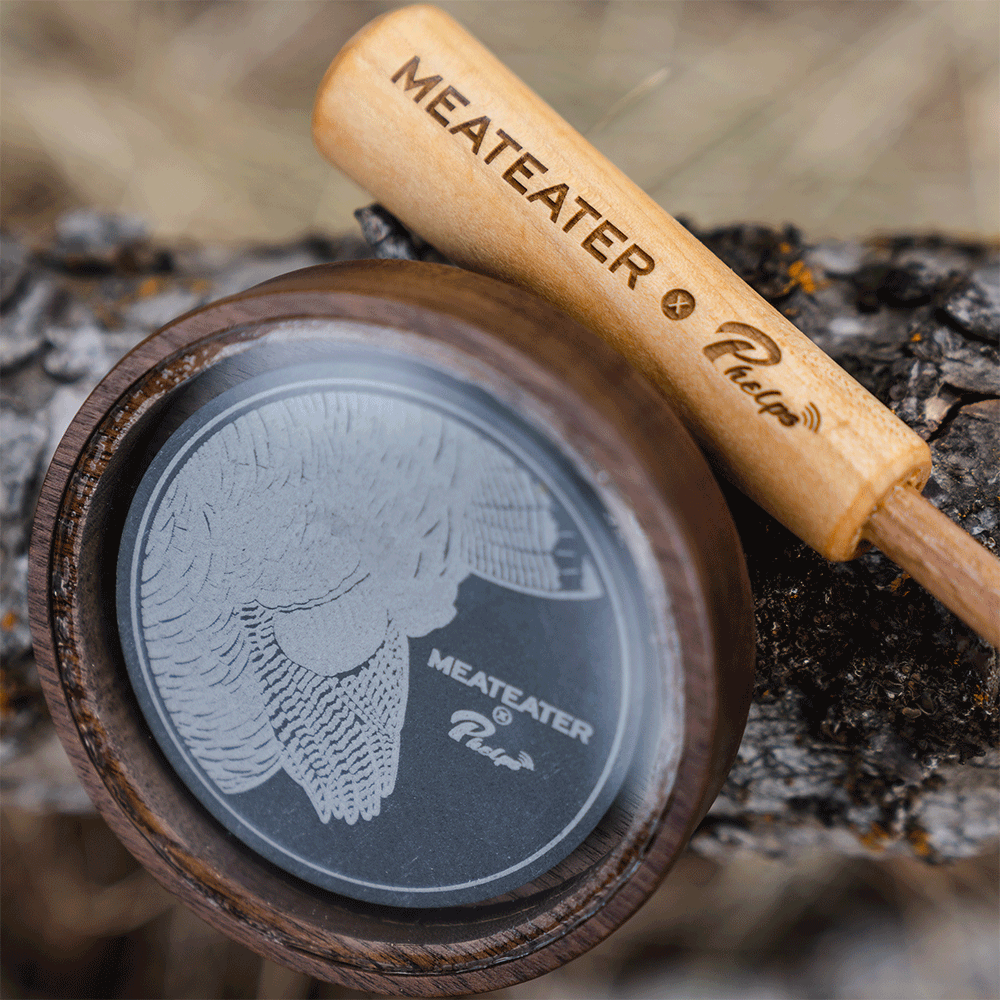 Crystal Over Slate Pot Call | MeatEater x Phelps