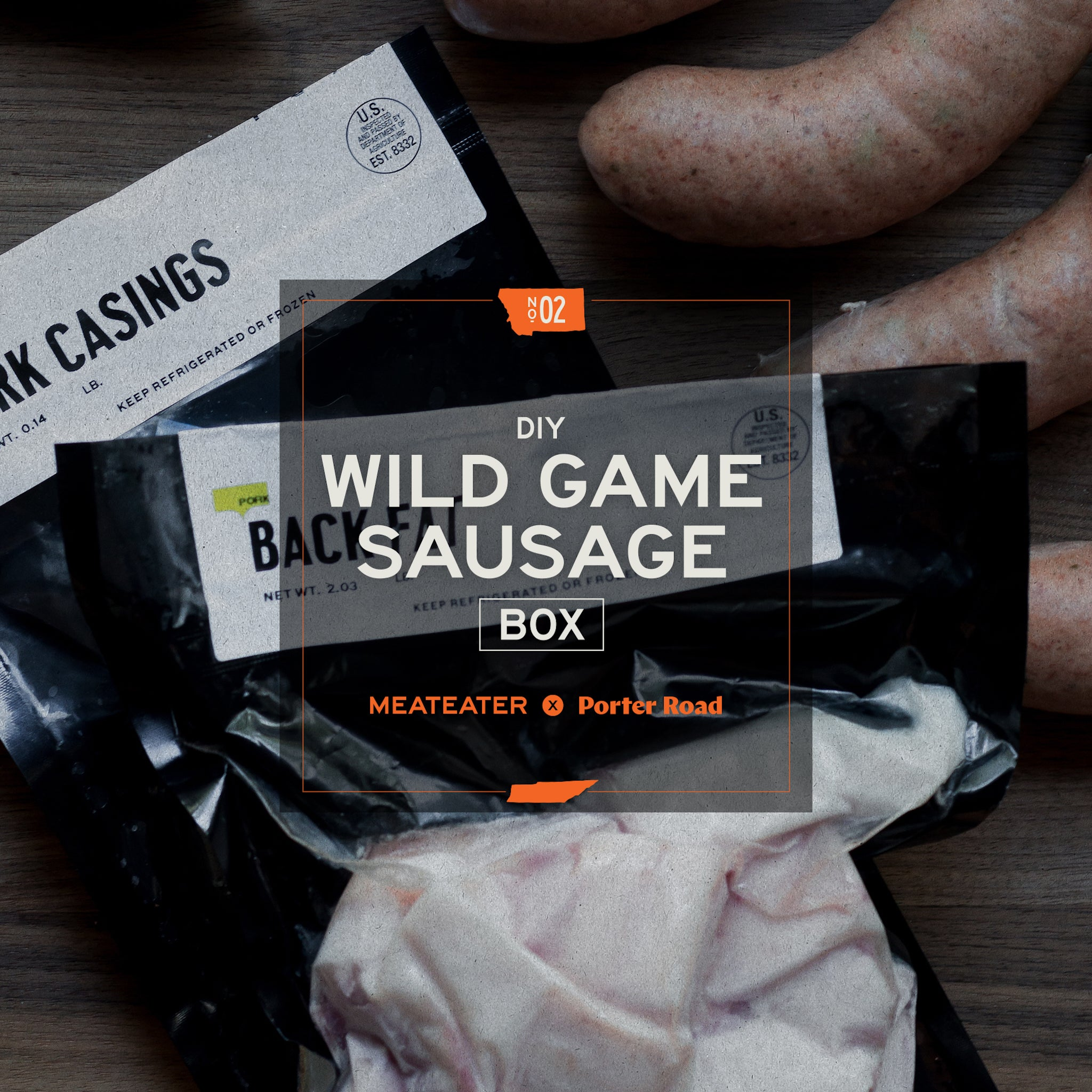 MeatEater X Porter Road - Sausage Box