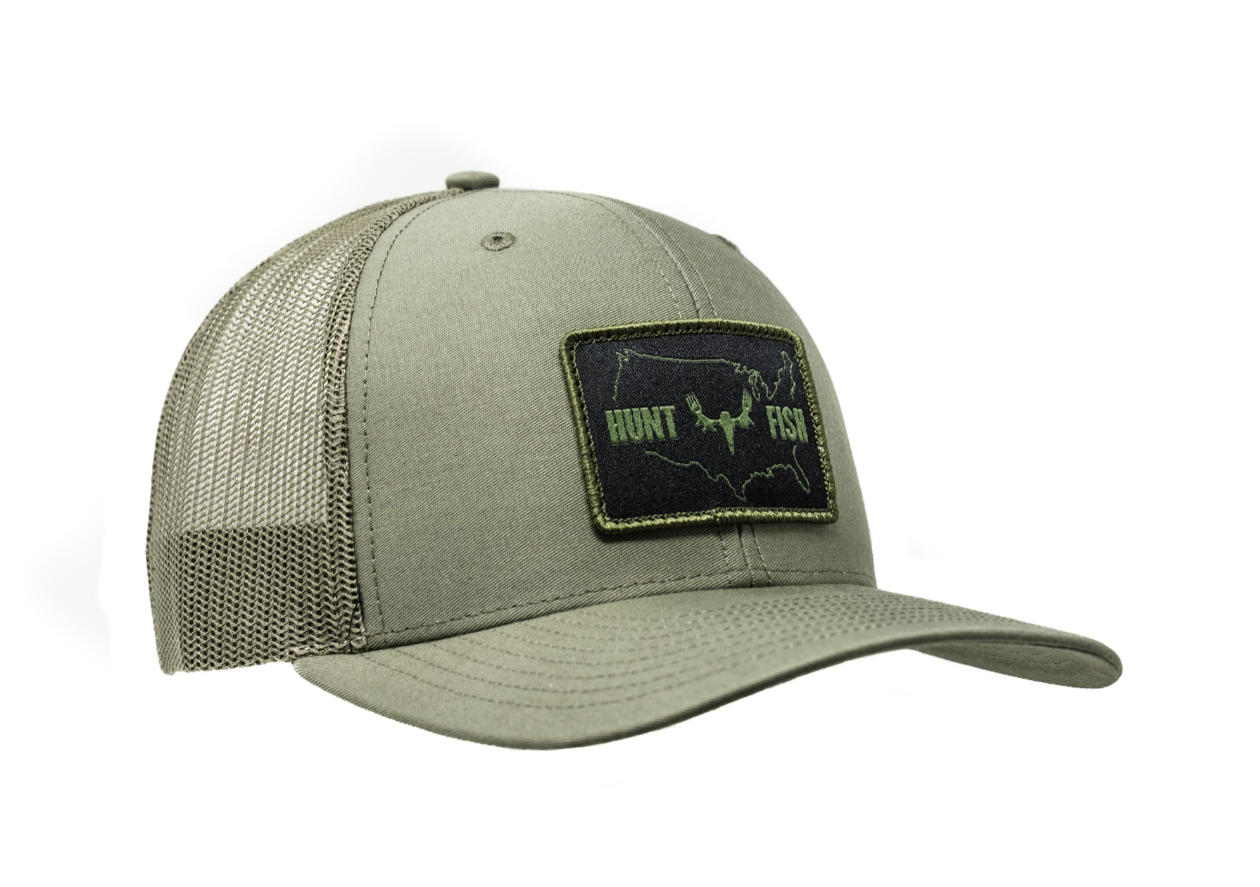 Hunt Fish Trucker - Loden