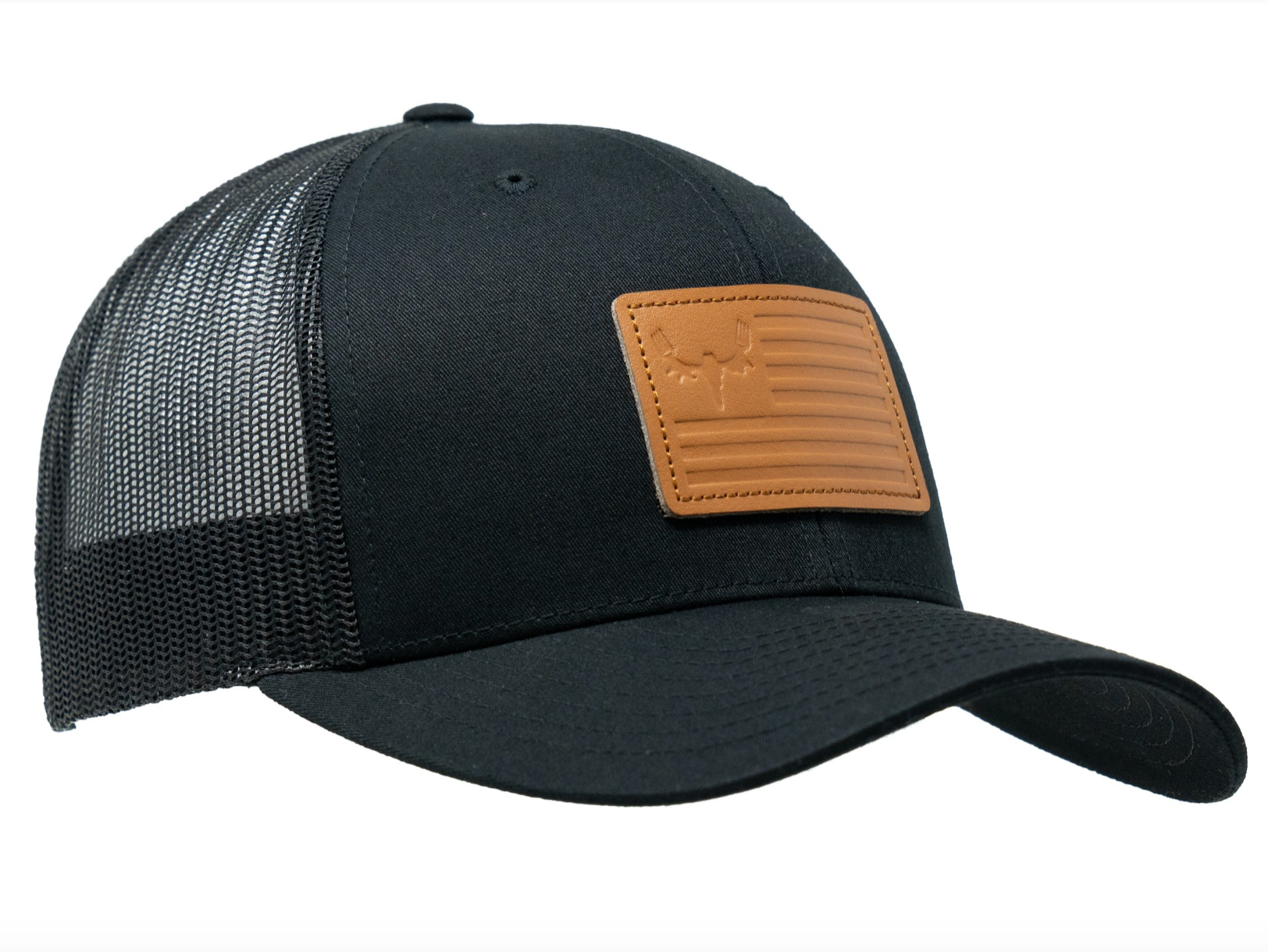 Flag Trucker - Black